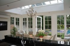 A kitchen with a prestige roof lantern offers pure excellence and elegance!