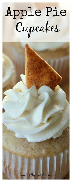 Apple Pie Cupcakes are the most amazing cupcake you'll ever eat – especially if you are an apple pie lover! These cupcakes always receive RAVE reviews and are always requested!