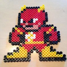 The Flash hama beads by silden1985