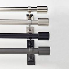 Charmant Oversized Adjustable Metal Rod