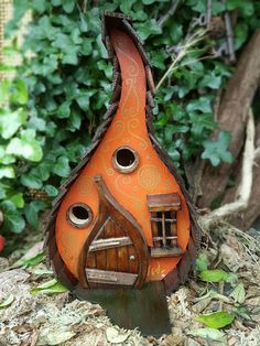 POMPOEN LODGE vogel huis/birdhouse / handgemaakte/tuin kunst /bird huizen /birdhouses