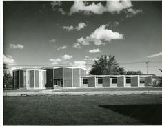St Vital Library from 1963 Library Architecture, Exterior