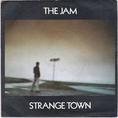 """The Jam - Strange Town, 7"""" vinyl, French pressing, c.1979, mod revival, weller #vinyl #jam"""