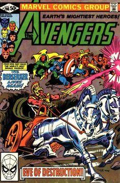 Avengers # 208 by Gene Colan & Bob Wiacek
