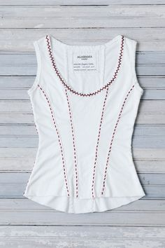 DIY THURSDAY: BEADED SEAM CORSET | Alabama Chanin | Journal