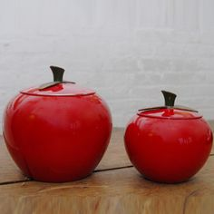Apple Canisters Pair now featured on Fab.