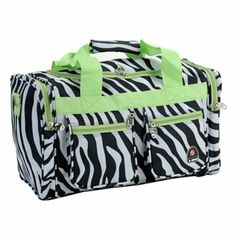 Rockland Zebra Duffel Bag $25.49