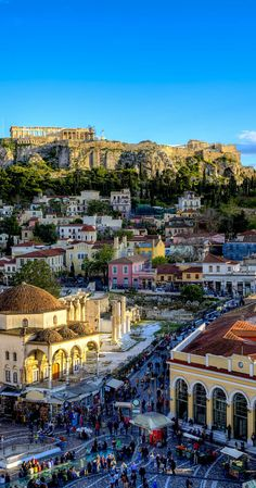Acropolis & Monastiraki in #Athens ,Greece ...