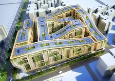 Vincent Callebaut Architectures. SOLAR DUNES CONSTRUCTION OF 1300 SELF-SUFFICIENT APARTMENTS CAIRO 2014 EGYPT