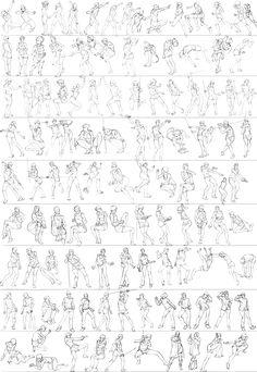 Gesture studies: 95