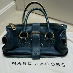 Authentic Marc Jacobs satchel EUC Lovingly used. Rare find in this color and condition. Authentic Marc Jacobs.  Not Marc by Marc Jacobs.  Maybe some signs of wear along the piping and scratches on hardware but overall excellent condition. This bag was kept in a dust bag when not used.   No trades. Let me know if you have any questions. Marc Jacobs Bags Satchels