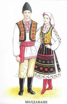 Folk Costume, Costumes, Develop Pictures, Fashion Illustration Sketches, Folk Fashion, Couture Sewing, Moldova, Fantasy Dress, Boho Gypsy