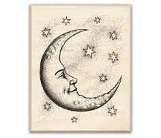 Image result for the symbol of a half moon with a star on the right side