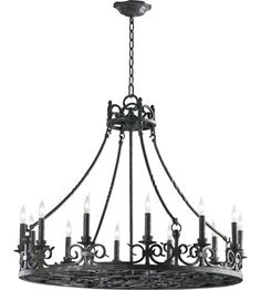 Chandelier - Spanish Colonial - Love! | Lamps and Lighting ...