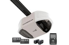 Chamberlain 3 And 4 Hp Myq Enabled Chain Drive Garage Door Opener Best Garage Door Opener, Best Garage Doors, Overhead Garage Door, Chamberlain Garage Door Opener, Garage Dimensions, Ipad, Chain Drive, Garage Design, Iphone