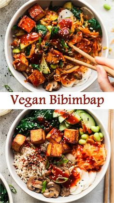 This vegan pad Thai recipe is healthy and easy to make! You'll love this noodle dish with tofu, peanuts and the most delicious pad Thai sauce! Vegan Dinner Recipes, Vegan Dinners, Veggie Recipes, Vegetarian Recipes, Cooking Recipes, Healthy Recipes, Easy Recipes, Cheap Vegan Recipes, Vegetarian Asian Recipes
