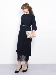 shop staff ayumi ;)│LOWRYS FARM One piece dress Looks - WEAR