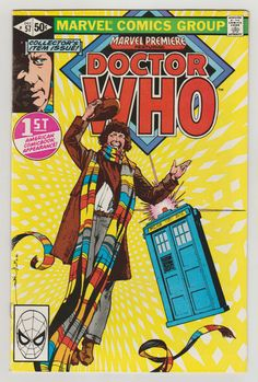 Marvel Premiere (featuring Doctor Who); Vol 1, 57, Bronze Age Comic Book. VF/NM. December 1980. Marvel Comics  #doctorwho #davegibbons #comicsforsale
