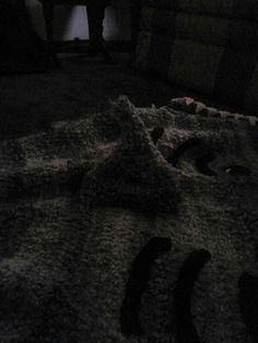 Dorsal fin on shark blanket needs some modifications