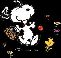 Animated Gif by Jody Atkin Gifs Snoopy, Snoopy Images, Snoopy Pictures, Snoopy Und Woodstock, Happy Easter Greetings, Charlie Brown And Snoopy, Spring Is Here, Fun Comics, Peanuts Snoopy