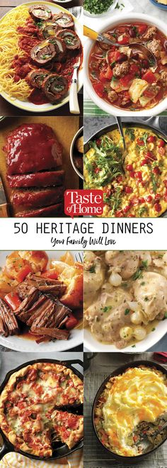 50 Heritage Dinners Your Family Will Love