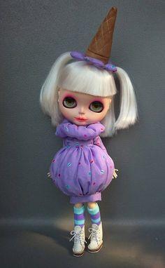 Guarda questo articolo nel mio negozio Etsy https://www.etsy.com/listing/477914927/blythe-dress-halloween-costume-gelato