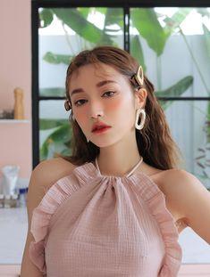 Interesting Hairdressing Tips You Should Use – Hair Wonders Korean Makeup Look, Korean Makeup Tips, Korean Beauty, Asian Beauty, Cute Makeup, Beauty Makeup, Makeup Looks, Hair Beauty, Mode Ulzzang