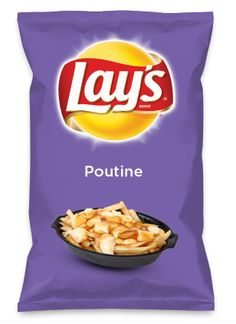Wouldn't Poutine be yummy as a chip? Lay's Do Us A Flavor is back, and the search is on for the yummiest flavor idea. Create a flavor, choose a chip and you could win $1 million! https://www.dousaflavor.com See Rules.