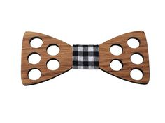 """Wooden Bow Tie """" Oak - Moon """" Wooden Bow Tie, Latest Trends, Moon, Good Things, Accessories, The Moon, Jewelry Accessories"""
