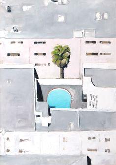 broken dream - Airco Caravan Oil On Canvas, Swimming Pools, Floor Plans, Painting, Swiming Pool, Pools, Painting Art, Paintings, Painted Canvas