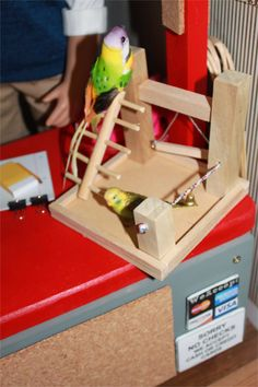 Bird cage: hmmm, could make on 3D printer