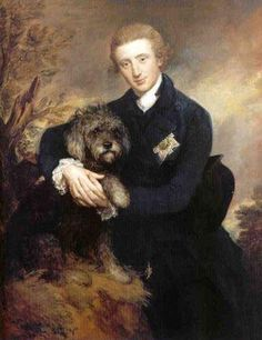 Henry Douglas-Scott, 3rd Duke of Buccleuch, 5th Duke of Queensbury by Gainsborough.