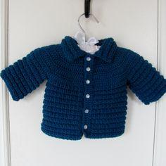 Hand Knit Baby Cardigan Sweater Pure Merino Wool Shop Etsy Warm and Woolly warmandwoolly.etsy.com Boy