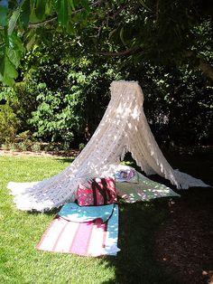 Voitaisiin myös ottaa mittaa keneltä löytyy kaunein teltta