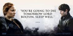 Sansa + Ramsay (Game of Thrones)