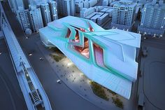 Taipei Performing Arts Center by Emergent Architecture