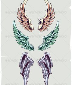 Wings for Your Vintage Design $3.00
