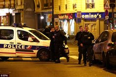 Police and other emergency services are at the scene, which is close to where the Charlie ...