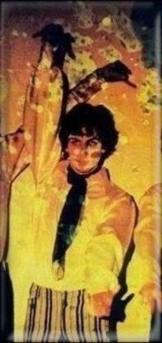 Syd Barrett at the UFO club,1966