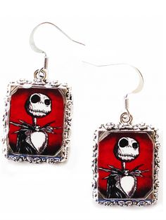 """Jack"" Earrings by Alkemie & Artistry"