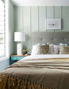 board and batten shutters Bedroom Beach with aquabumps Art beach chic beach house Bedroom Beach Cottage Style, Cottage Style Homes, Beach House, Seaside Cottage Decor, Awesome Bedrooms, Beautiful Bedrooms, Bedroom Wall, Master Bedroom, House Design