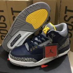 31d7fea3de80 Newest 2018 Air Jordan 3 Marquette PE - Mysecretshoes Air Max Sneakers