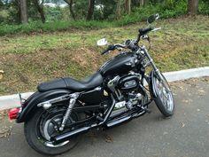 Harley Davidson xl 1200 custom 2007 black mate