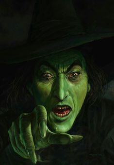 Wicked Witch, Wizard of Oz, fan art, Halloween, film Theme Halloween, Halloween Pictures, Holidays Halloween, Vintage Halloween, Halloween Makeup, Happy Halloween, Halloween Witches, Halloween Humor, Halloween Forum