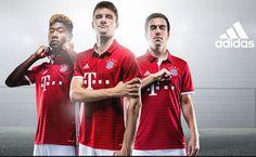 camisetas de futbol online 2018: Nueva camiseta del Bayern Munich baratas