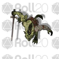 Devin Token Pack 36 - Humanoid Monsters (KS) | Roll20 Marketplace: Digital goods for online tabletop gaming