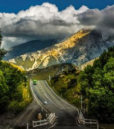 Amazing Road View of New Zealand