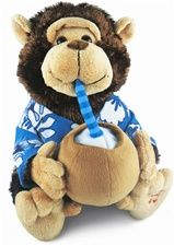 """12"""" Cuddle Barn Vacation Monty- Sings 'Escape' (The Pina Colada Song)"""