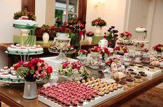 Mesa para chá bar