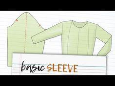 02 - Basic Sleeve Pattern - YouTube